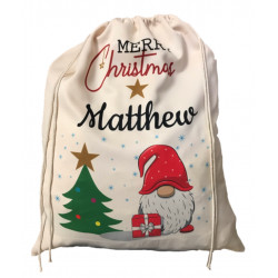 Personalised Santa Sack - Gnome 32