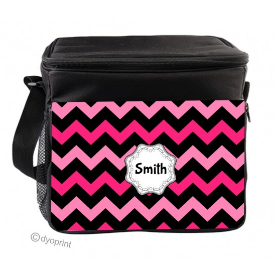 Personalised Insulated Cooler Bag - SK22 Zig Zag