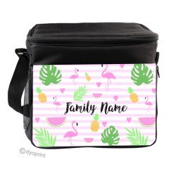 Personalised Insulated Cooler Bag - SK30 Flamingo