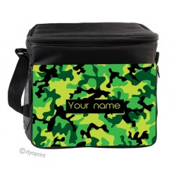Personalised Insulated Cooler Bag - SK4 Green Camo