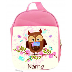 Personalised Kids Lunch Pack - LP11 Mail Owl