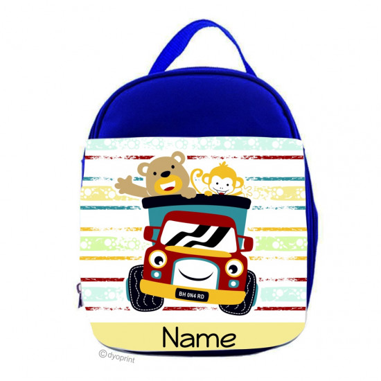 Personalised Kids Lunch Pack - LP8 Happy Animals