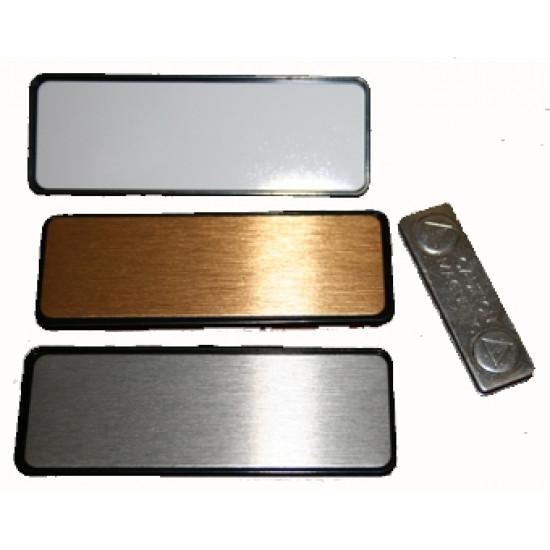 Name Badge 7.6cm x 2.5cm Magnet back