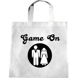 Personalised Wedding Enviro Tote Bag - Game On Design J