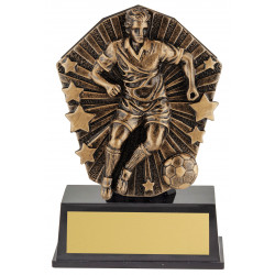 Soccer Male Player Trophy 120mm Cosmos Super Mini Series CSM80