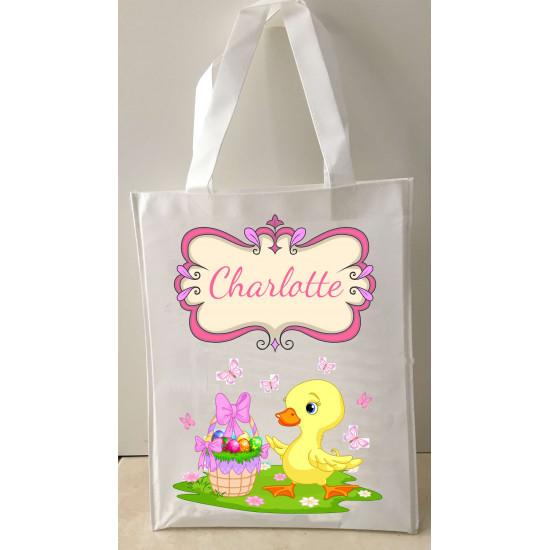 Personalised Enviro Tote Bag - e8 Easter Duck