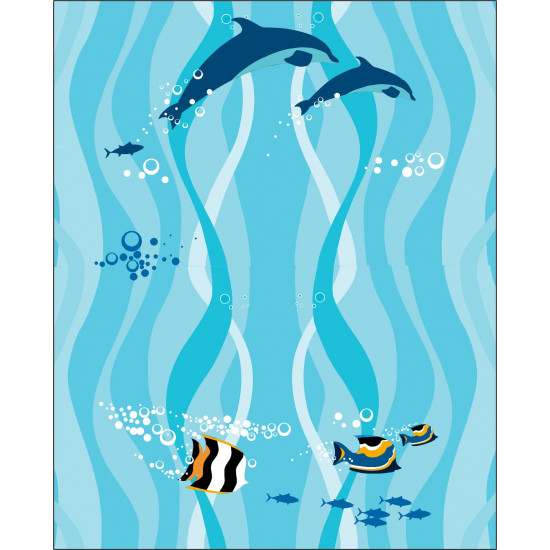 Fish Shark Marine Icy pole holder Personalised