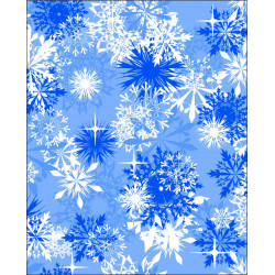 Frozen snowflake Icy pole holder Personalised