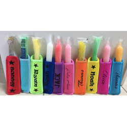 Personalised Icy Pole holder - sleeve