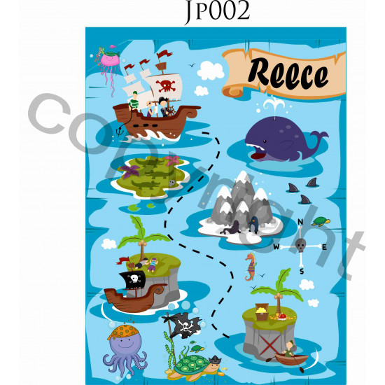 WOODEN 25 piece PERSONALISED Jigsaw Puzzle