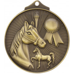 Horse equestrian Medal - Sunraysia Series - MD935
