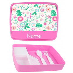 Personalised Plastic Lunch Box PLB9 Spring