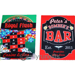 PERSONALISED Bar Sign / Man Cave Door plate