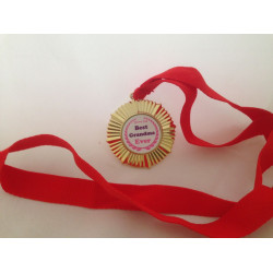 Personalised Medal with lanyard