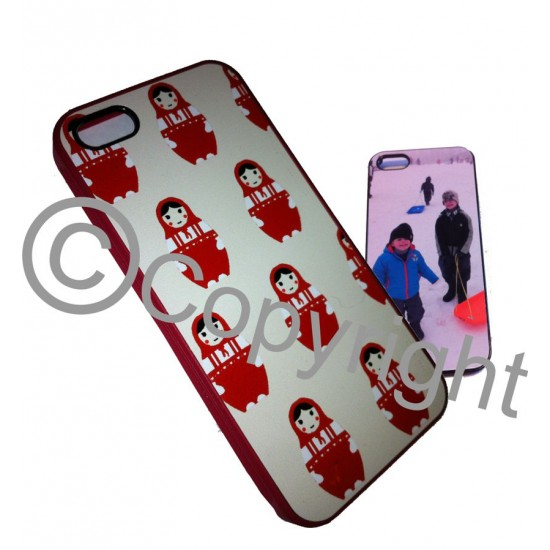 Personalised IPHONE 5 RUBBER case