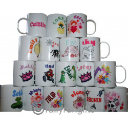 Personalised Unbreakable Plastic Mugs