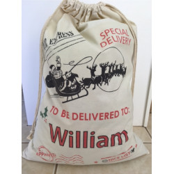Personalised Santa Sack - Approved Delivery