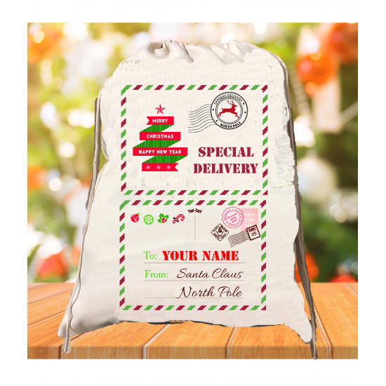 Personalised Santa Sack - Special Letter 21