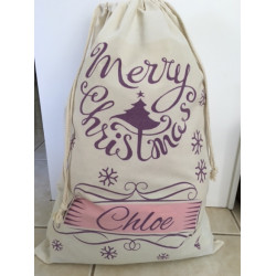 Personalised Santa Sack - Scroll