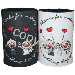 30 x Personalised stubby holder can coolers - FREE POST